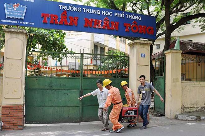 EVN Hanoi dam bao dien phuc vu tậu thi hinh anh 2