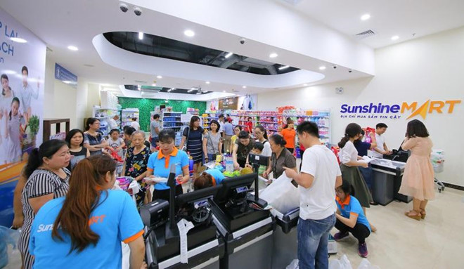 Sieu thi Sunshine Mart Hoang Mai chinh thuc di vao hoat dong hinh anh 6