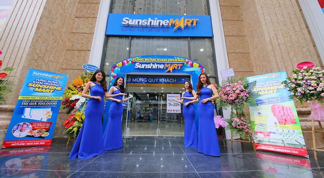 Sieu thi Sunshine Mart Hoang Mai chinh thuc di vao hoat dong hinh anh 1