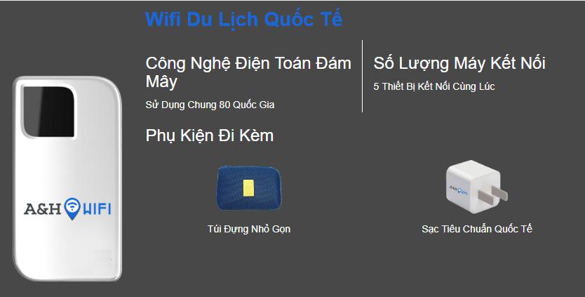 Cho thuê wifi du lịch quốc tế